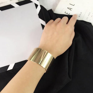 Heavy-Duty Polished Metal Glossy Personality In Sexy Accessories Bracelet Jewelry