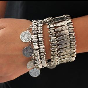 Fashion Tassel Coin Bracelet Vintage Jewelry
