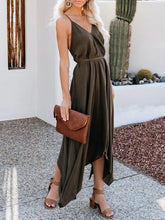 Load image into Gallery viewer, 2019 Summer New Sexy Halter Strap Irregular Dress