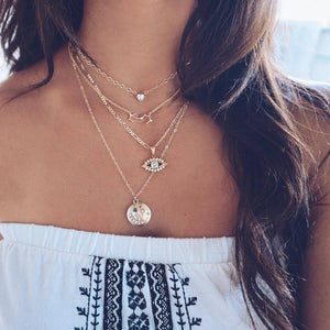 Full Diamond Constellation Pendant Necklace