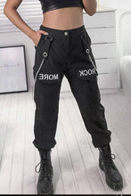 Load image into Gallery viewer, Fashion Zipper Sling Casual Pants