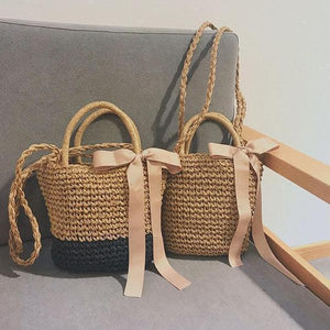 🔥2018 Must Have Bow-Knot Straw Bag Handbag