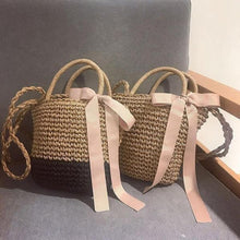 Load image into Gallery viewer, 🔥2018 Must Have Bow-Knot Straw Bag Handbag