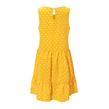 Load image into Gallery viewer, Summer Dot Printed A-Line Ruffle Mini Dress