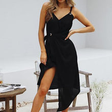 Load image into Gallery viewer, Fashion Sleeveless Plain Casual Vacation Dress