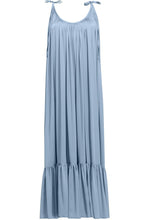 Load image into Gallery viewer, Spaghetti Strap Plain Vacation Maxi Dress