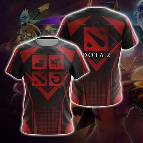 Eat Sleep Dota 2 Repeat T-shirt