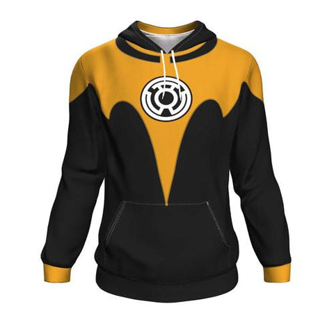 The Sinestro Corps Batman All Over Print Pullover Hoodie
