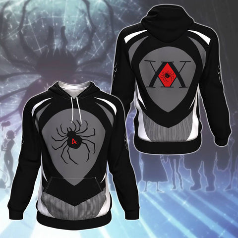 Spider Hunter X Hunter All Over Print Pullover Hoodie