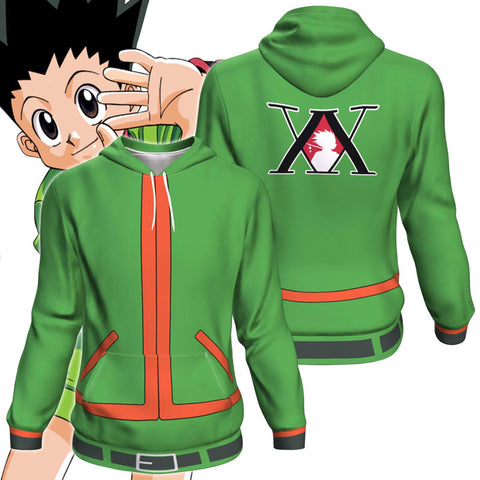 Hunter X Hunter Gon Freecss All Over Print Pullover Hoodie