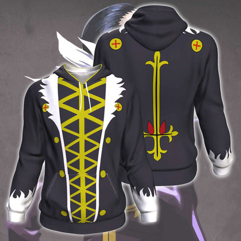 Hunter X Hunter Kuroro Lucifer All Over Print Pullover Hoodie