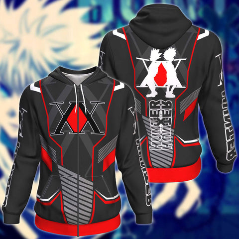 Hunter x Hunter V2 Zip Up Hoodie Jacket