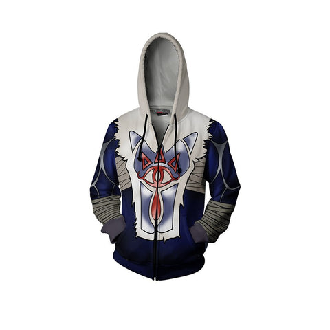 The Legend Of Zelda Sheik Cosplay Zip Up Hoodie Jacket
