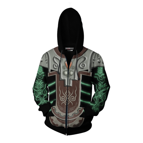 The Legend Of Zelda Twilight Princess Zant Cosplay Zip Up Hoodie Jacket