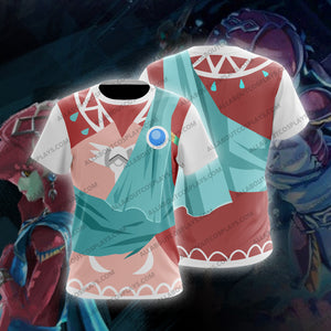 The Legend of Zelda Breath of the Wild Mipha Cosplay T-Shirt
