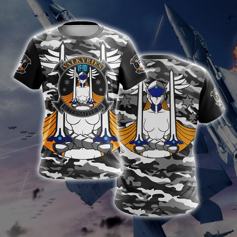 Ace Combat Isumi's Valkyries T-shirt