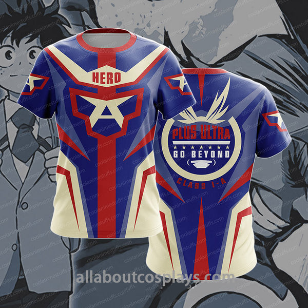 All Might Boku No Hero Academia T-shirt