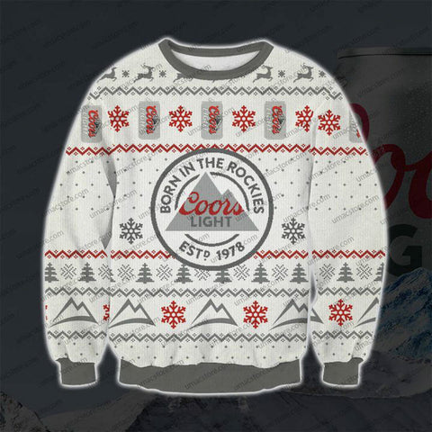COORS-LIGHT-V4-3D-PRINT-UGLY-CHRISTMAS-SWEATSHIRT