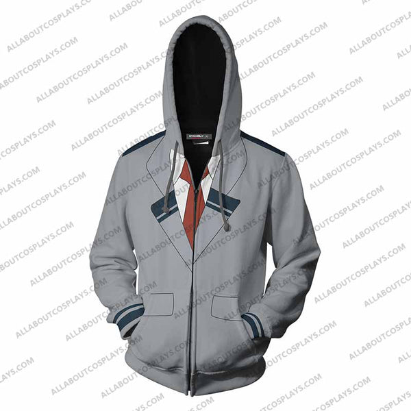 My Hero Academia Cosplay Zip Up Hoodie Jacket  v1