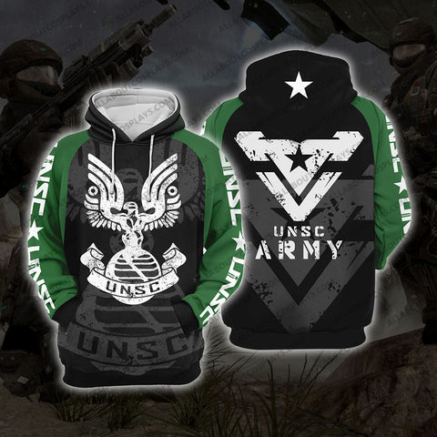 HALO UNSC Army H2 Hoodie