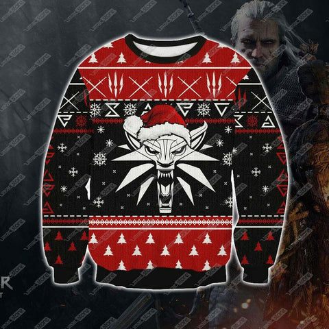 THE WITCHER 1809 3D PRINT UGLY CHRISTMAS SWEATSHIRT