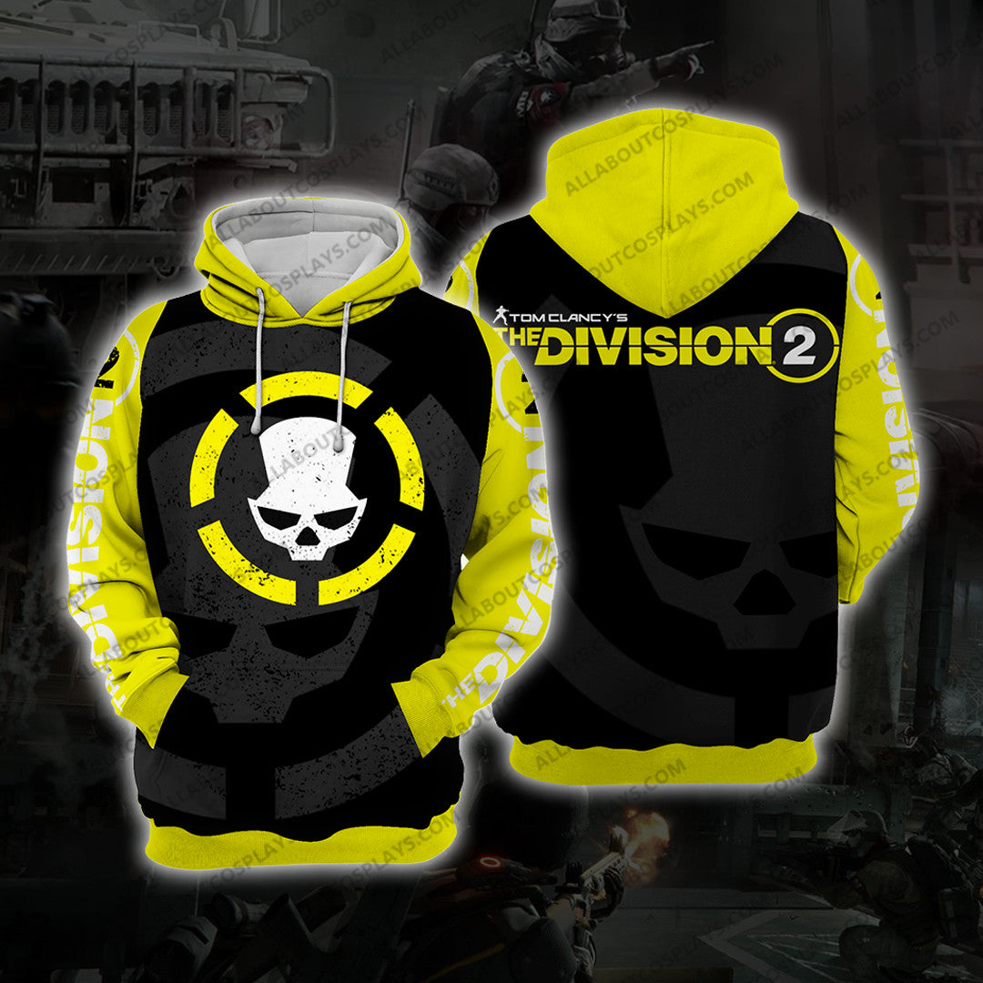 The Division ManHunt Cosplay Hoodie C3