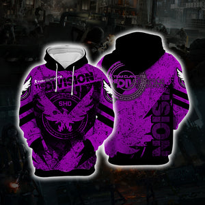 The Division Purple Cosplay Hoodie D6