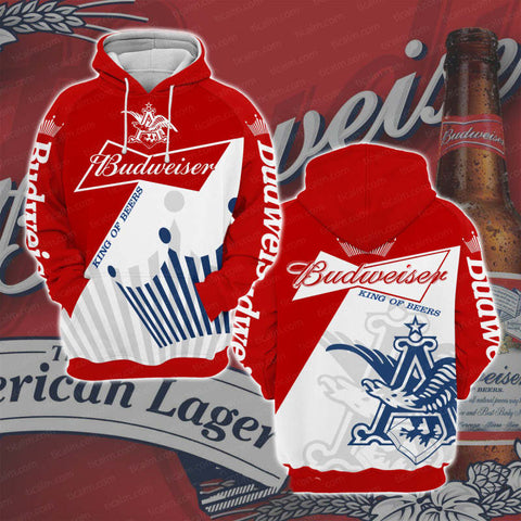 Budweiser Pullover Hoodie V2