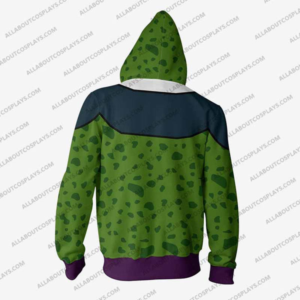 DRAGON BALL Z - Super Perfect Cell Hero Zip Up Hoodie