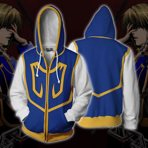 Kurapika Hunter x Hunter Zip Up Hoodie