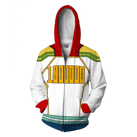 My Hero Academia Hoodie - Boku no Hero Academia Lemillion Mirio Togata Zip Up Hoodie