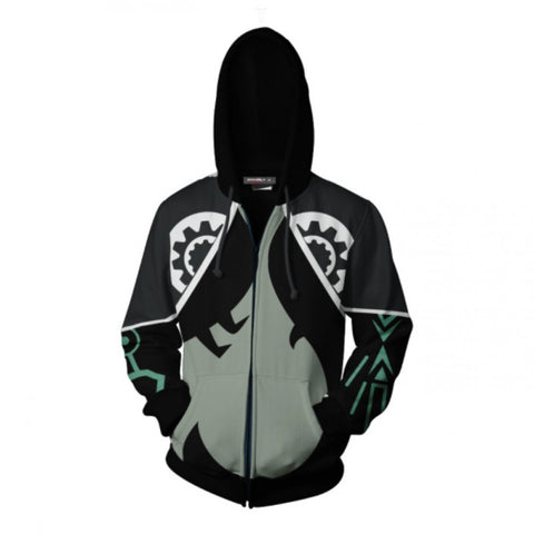 The Legend of Zelda Hoodies - Midna Zip Up Hoodie Jacket Cosplay