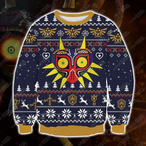 The-legend-of-zelda-majora-s-mask-3d-print-ugly-christmas-sweatshirt