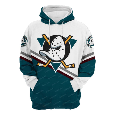 The Mighty Ducks White Pullover Hoodie