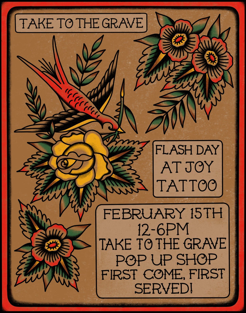 Flash Day at Joy Tattoo