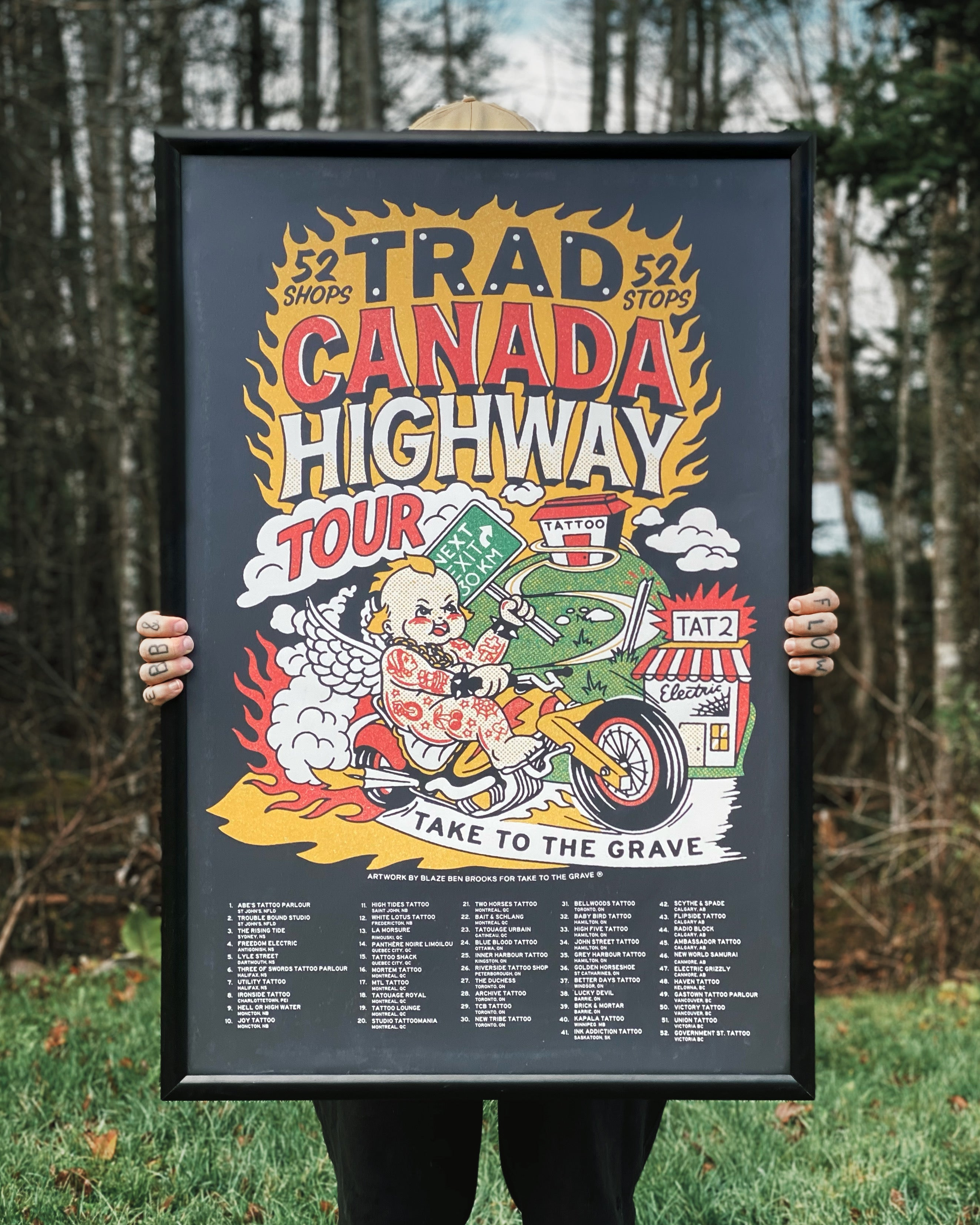 Canadian Traditional Tour Posters