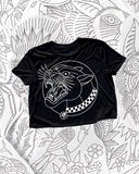Panther Crop Top