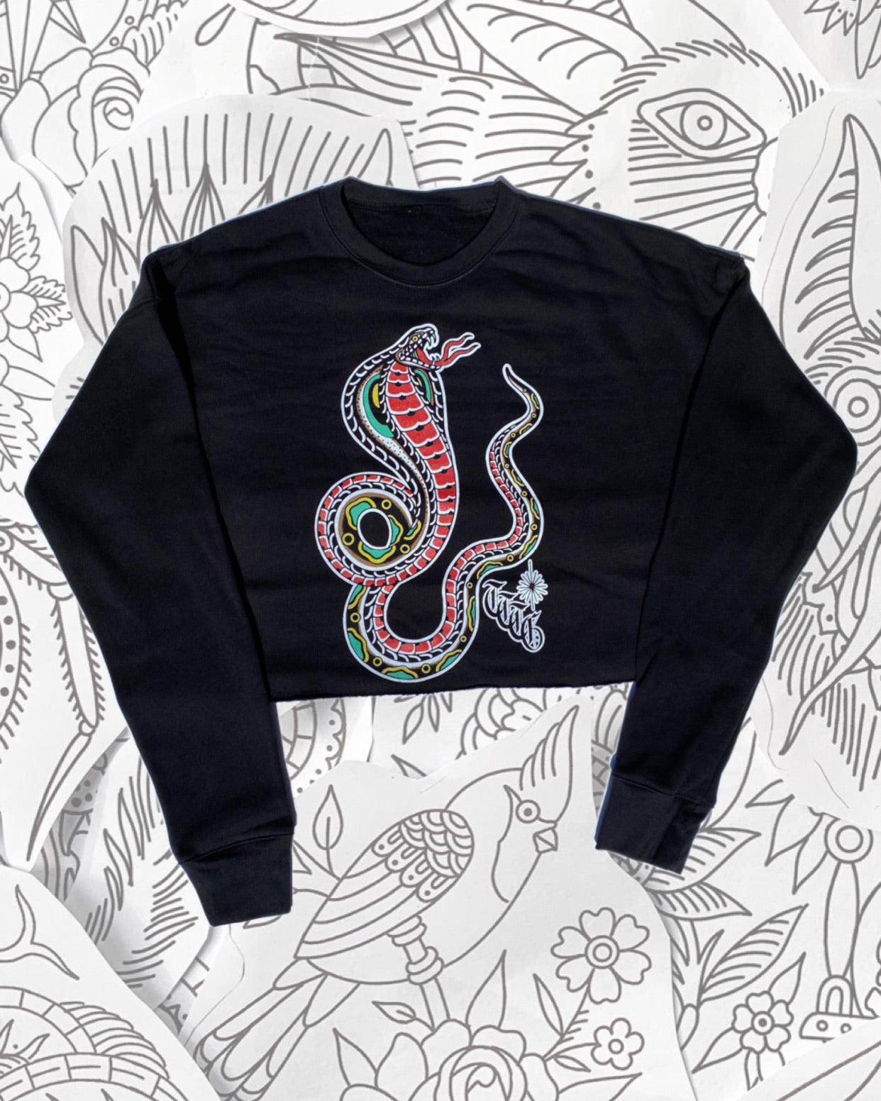 Cobra Crop Crew Neck