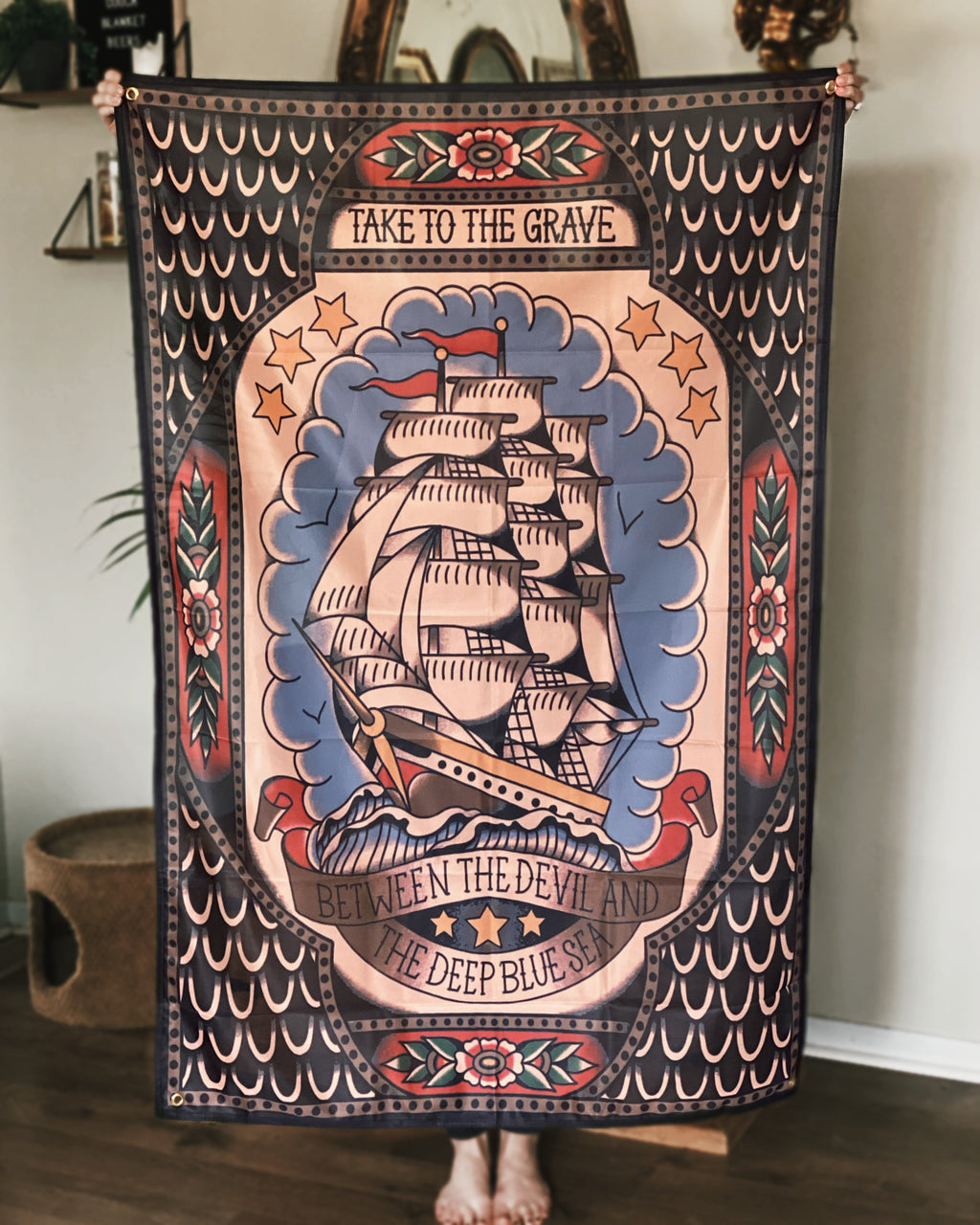 Clipper Ship Bannner
