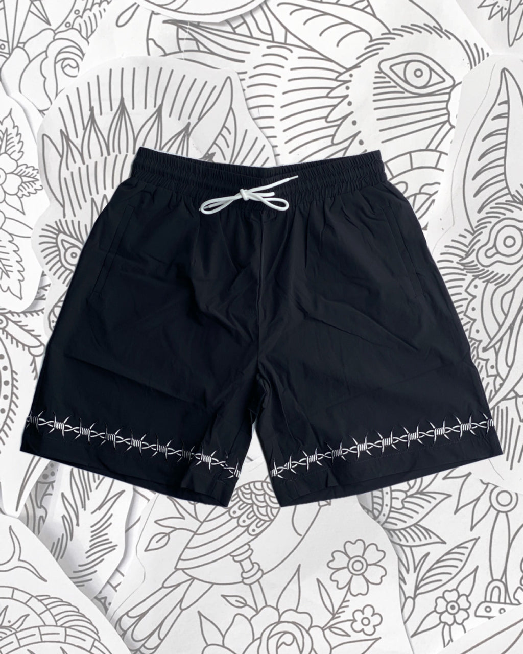 Barbed Wire Shorts