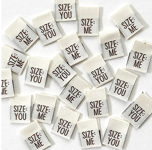 Size You Woven Tags