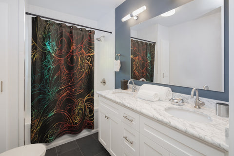 "Tenta""cool"" Shower Curtain"