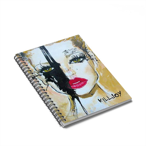 KillJoy Spiral Notebook - Ruled Line