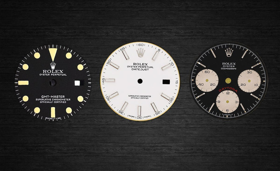 A Comprehensive Guide To Rolex Dials