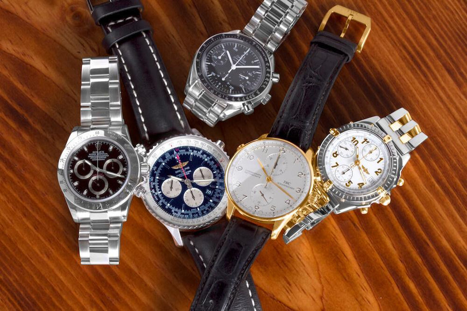 Don't Miss These Five Popular Luxury Chronographs