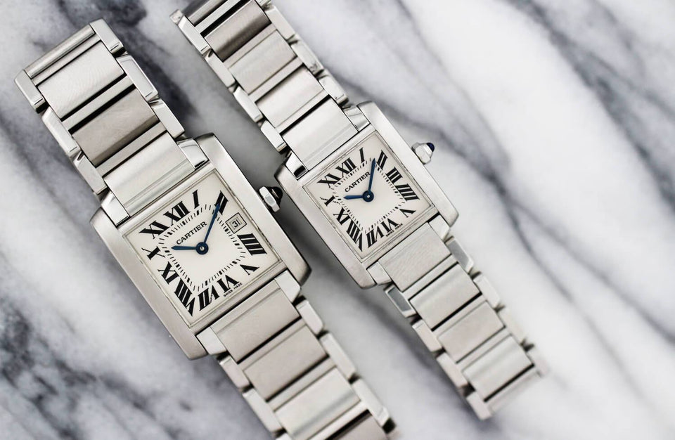 February Watch of the Month: Cartier Tank Française