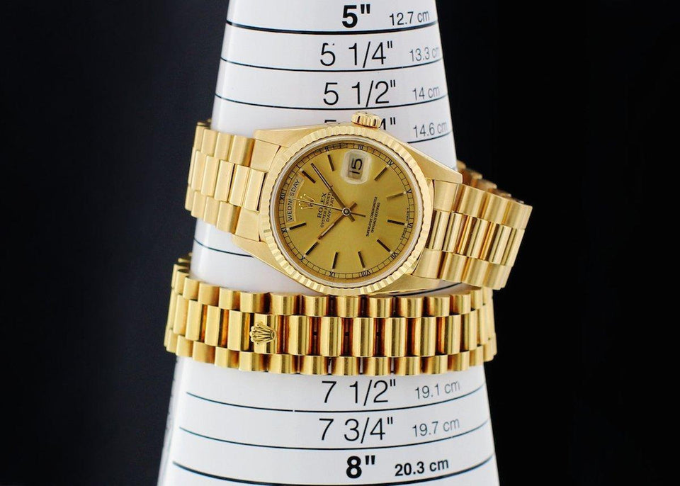 Four Reasons We Love the Rolex Day-Date 18238