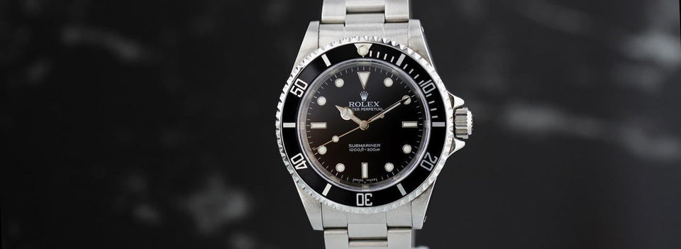 March Watch of the Month: Rolex Submariner No-Date 14060
