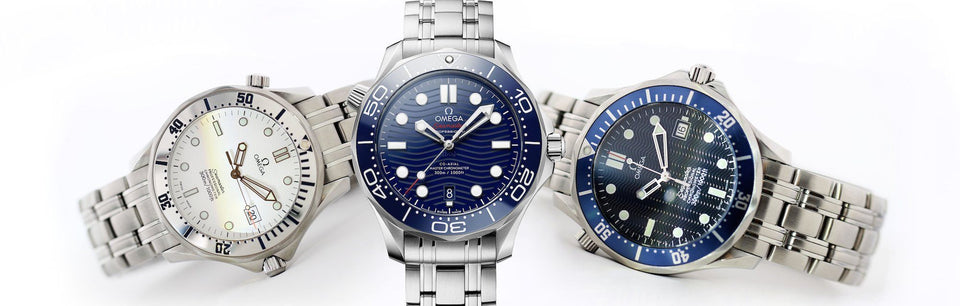 Watch of the Month: New vs. Older Omega Seamaster Diver 300M