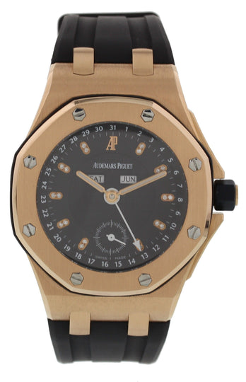 Audemars Piguet QE II Cup 2007 Offshore Limited Edition 18k Rose Gold